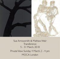 Transference: Sue Arrowsmith & Mathew Weir